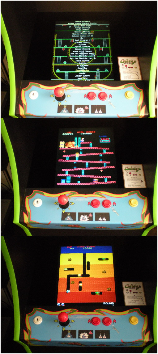 David's Video Game Insanity! - Home Arcade Projects - Mini