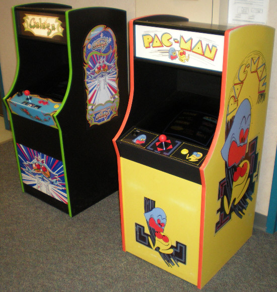 David's Video Game Insanity! - Home Arcade Projects - Mini Galaga Multigame MAME cabinet ...